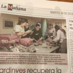 VOLUNTARIADO Y ERASMUS PLUS EN LA PRENSA LOCAL